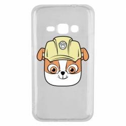 Чохол для Samsung J1 2016 Dog in helmet