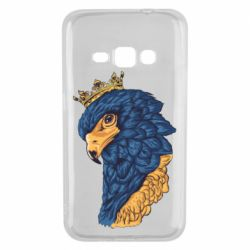 Чехол для Samsung J1 2016 Eagle with a crown on its head