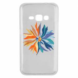 Чохол для Samsung J1 2016 Flower coat of arms of Ukraine