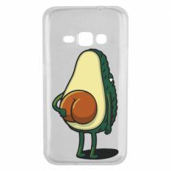 Чохол для Samsung J1 2016 Funny avocado