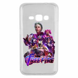 Чехол для Samsung J1 2016 Garena free avengers