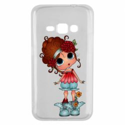 Чехол для Samsung J1 2016 Girl with big eyes