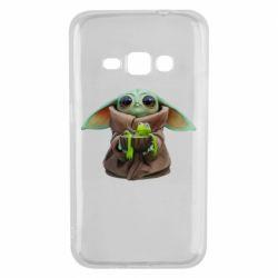 Чохол для Samsung J1 2016 Grogu and Kermit