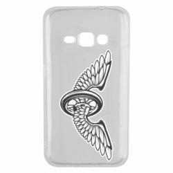 Чохол для Samsung J1 2016 Колесо та крила