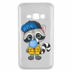Чехол для Samsung J1 2016 Little raccoon