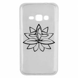 Чохол для Samsung J1 2016 Lotus yoga