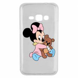 Чохол для Samsung J1 2016 Minnie And Bear
