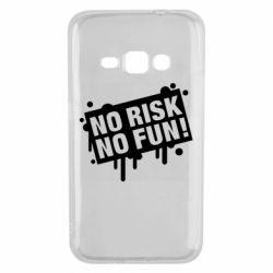 Чохол для Samsung J1 2016 No Risk No Fun