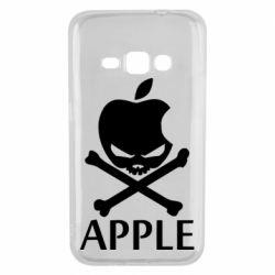 Чехол для Samsung J1 2016 Pirate Apple