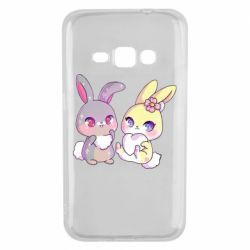 Чохол для Samsung J1 2016 Rabbits In Love