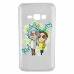 Чохол для Samsung J1 2016 Rick and Morty voodoo doll