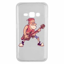 Чохол для Samsung J1 2016 Rock'n'roll Santa