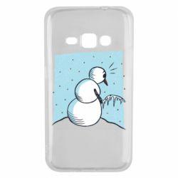 Чохол для Samsung J1 2016 Snowman. It's Cold!
