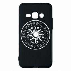 Чохол для Samsung J1 2016 Sun in runes