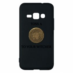Чохол для Samsung J1 2016 Toss a coin to your witcher ( орен )