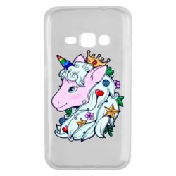 Чохол для Samsung J1 2016 Unicorn Princess