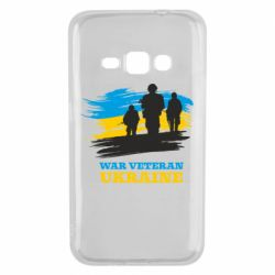 Чохол для Samsung J1 2016 War veteran оf Ukraine