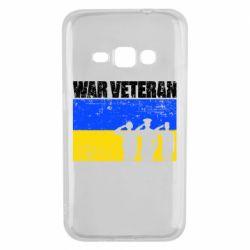 Чохол для Samsung J1 2016 War veteran