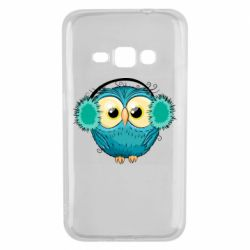 Чехол для Samsung J1 2016 Winter owl