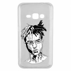 Чехол для Samsung J1 2016 XXXTentacion Monochrome Art