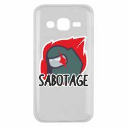 Чохол для Samsung J2 2015 Among Us Sabotage