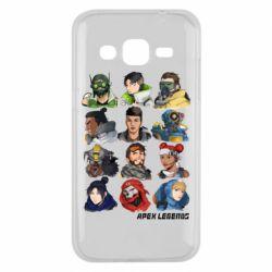 Чохол для Samsung J2 2015 Apex legends heroes