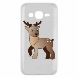 Чехол для Samsung J2 2015 Cartoon deer