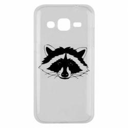 Чохол для Samsung J2 2015 Cute raccoon face