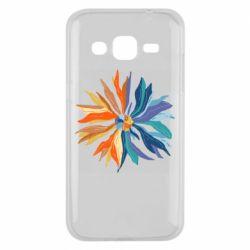 Чохол для Samsung J2 2015 Flower coat of arms of Ukraine