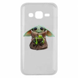 Чохол для Samsung J2 2015 Grogu and Kermit