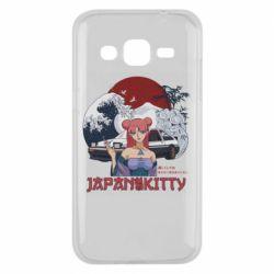Чохол для Samsung J2 2015 Japan Kitty