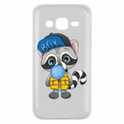 Чехол для Samsung J2 2015 Little raccoon