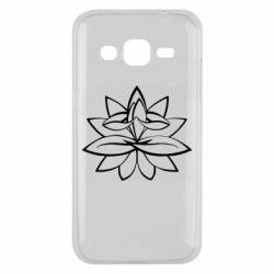Чохол для Samsung J2 2015 Lotus yoga