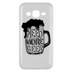 Чохол для Samsung J2 2015 Need more beer