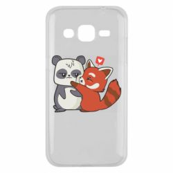 Чохол для Samsung J2 2015 Panda and fire panda