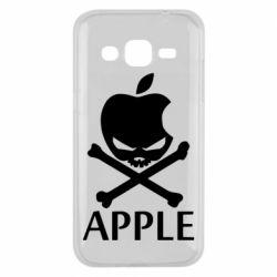 Чехол для Samsung J2 2015 Pirate Apple