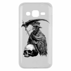 Чехол для Samsung J2 2015 Plague Doctor graphic arts