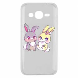 Чохол для Samsung J2 2015 Rabbits In Love