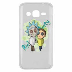 Чохол для Samsung J2 2015 Rick and Morty voodoo doll