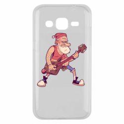 Чохол для Samsung J2 2015 Rock'n'roll Santa