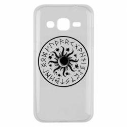Чохол для Samsung J2 2015 Sun in runes