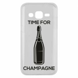 Чохол для Samsung J2 2015 Time for champagne