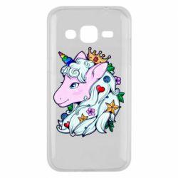 Чохол для Samsung J2 2015 Unicorn Princess