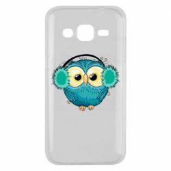 Чехол для Samsung J2 2015 Winter owl