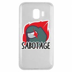 Чохол для Samsung J2 2018 Among Us Sabotage