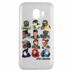 Чохол для Samsung J2 2018 Apex legends heroes