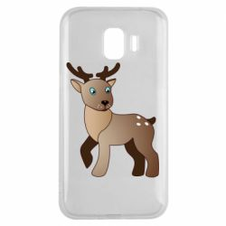 Чехол для Samsung J2 2018 Cartoon deer