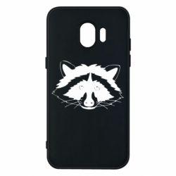 Чохол для Samsung J2 2018 Cute raccoon face