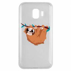 Чохол для Samsung J2 2018 Cute sloth