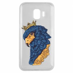 Чехол для Samsung J2 2018 Eagle with a crown on its head